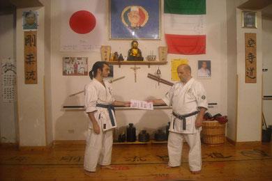 Angelo Neri     II kyu     Seigokan Goju Ryu karate-do     22 aprile 2011     Reggio Calabria