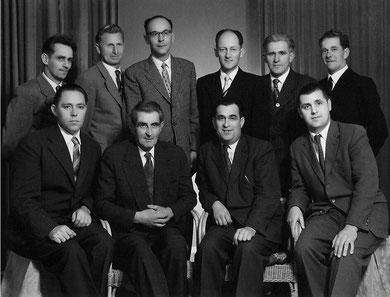 Gründungsvorstand 1956