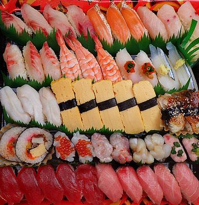 宅配寿司 寿司の出前