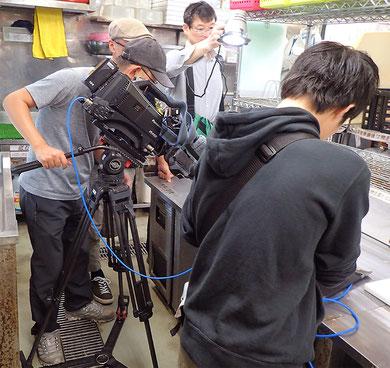 宅配寿司 テレビ取材