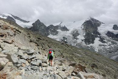 Zinalrothorn, Nordgrat, Mountethütte, Cabane du Grand Mountet