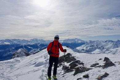 Skitour, Schweiz, Wildhorn, Wildhornhütte, Tagestour, Tagesskitour, Wildhorn an einem Tag, Lenk, BEO, Wildhornhütte, Chilchligletscher, Glacier de Téné, Glacier du Wildhorn, Abfahrtsvarianten