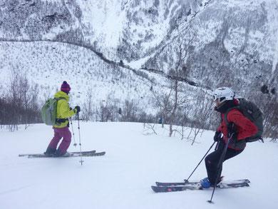 Daltind Lyngenalpen Skitour