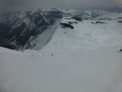 Skitour, Hausstock, Elm, Schweiz, Panixer Pass, Schlusshang