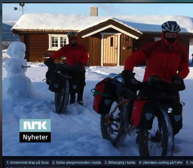 FATbike Tour in Norwegen 2014