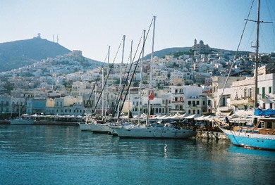 Syros Boat Harbour