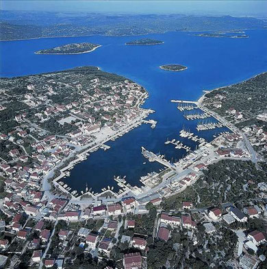 Lastovo village and ACI Marina