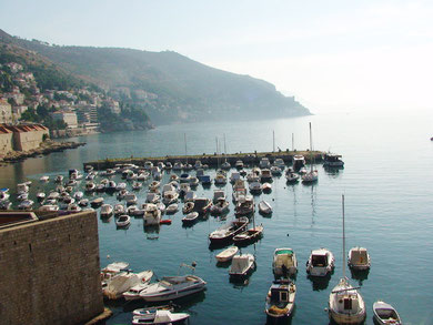 Dubrovnik fishing harbour
