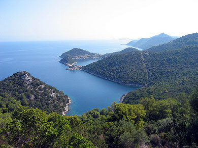 The Nature Park of Lastovo