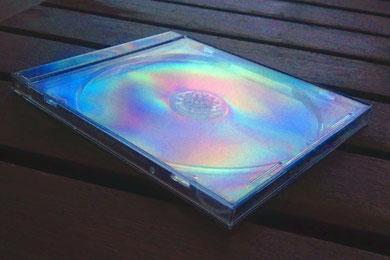 couleurs de polarisation boitier de CD