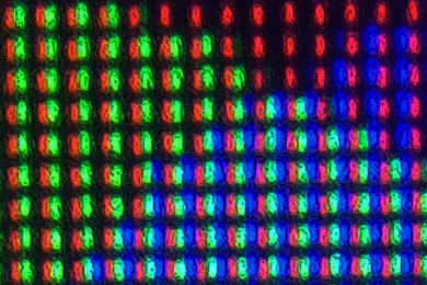 pixels écran