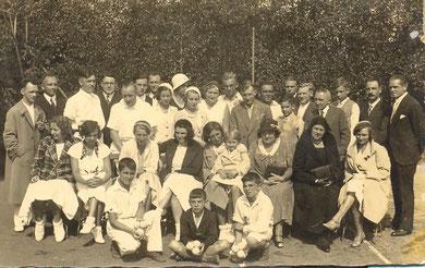 1930er Jahre - die ersten Gehversuche auf der Anlage am Cafe Waldeck