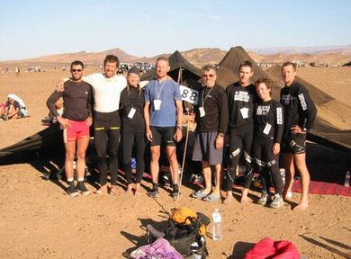 MdS - das unerwartete Ergebnis: das Team-Erlebnis mit voher fremden Zelt-Mitbewohnern