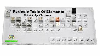 periodic table, periodic table of elements cubes, periodic table of elements, elements of the periodic table, elements cubes, elements density cubes, density of the elements, periodic table box and case