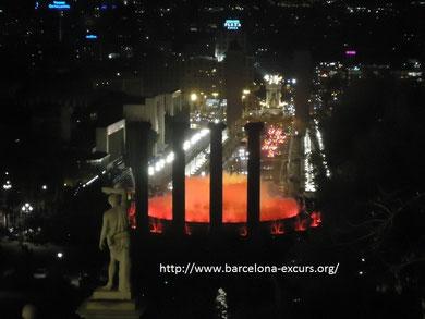 волшебный фонтан барселона, поющий фонтан барселона, поющие фонтаны в барселоне, фонтаны в барселоне расписание, гид в барселоне, экскурсии в барселоне