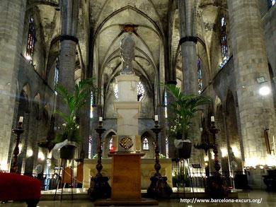 Готическая церковь Санта Мария дель Мар
