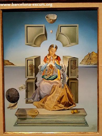 Мадонна Порт-Льигата, Дали. Первая версия