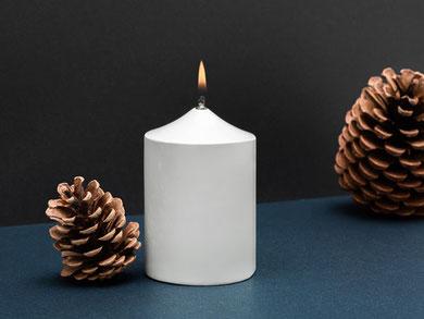 Öllampe Porzellan Kerze Immerlicht