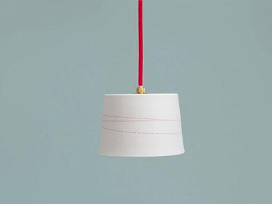 Porzellanleuchte Lampe Porzellan Berlin Linien