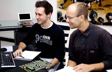 Arbeitsklima von ed electronic design AG, PCB Layout, PCB Design