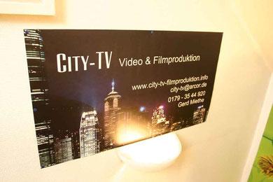 Hochzeitsvideo Imagefilm Gerd Miethe City-TV