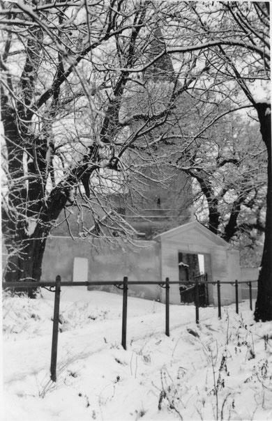 Hörersdorf: Kirchenberg 1954 - Foto von Gertrude Schmidt