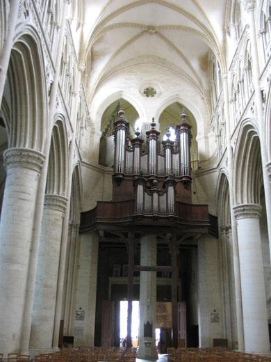 orgue cavaillé-coll de la cathédrale de Sées