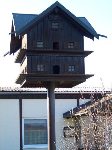 Taubenkobel am Vereinsheim