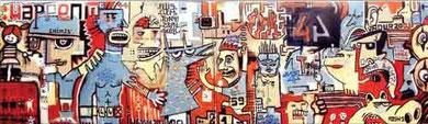 Collectif de peintres muros