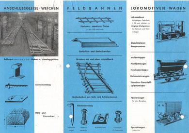 Werbeflyer: Klingemann & Krebs