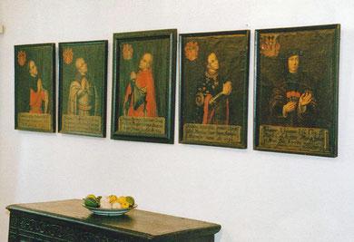 Die Herzöge und Grafen von Kleve, 17.Jh., Öl auf Leinwand, Freundeskreis Museum Kurhaus und B.C. Koekkoek-Haus Kleve e.V.