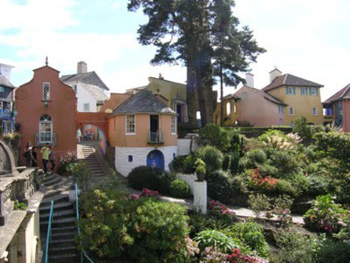 Portmeirion - the extraordinary vision of Clough William-Ellis.