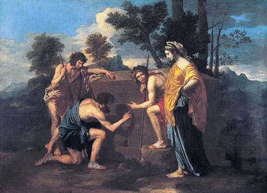 The Shepherd's of Arcadia by Nicolas Poussin (1637-1638).