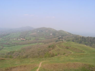 The Malvern Hills, Worcestershire Beacon.