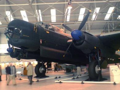 RAF Cosford - Avro Lincoln B2, RF398. (Neil Tipton).