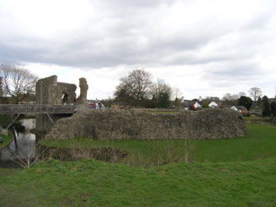 Whittington Castle - The Inner Bailey. (2010)