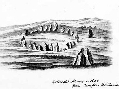 The Rollright Stones c.1607