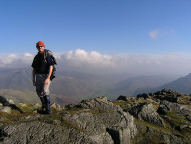 On Crinkle Crags