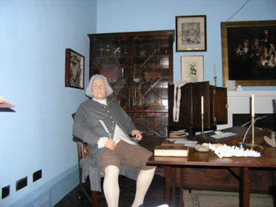 Erasmus Darwin House, The Study & Consulting Room.