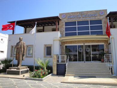 Das Rathaus von Gümüslük