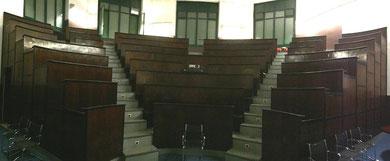 L'Aula di Clinica Chirurgica presso l'AOU Città della Salute e della Scienza, sede storica delle riunioni della Società Piemontese di Urologia, in seguito Associazione degli Urologi Piemontesi e Valdostani.