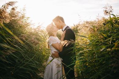 Brautpaar im Feld München