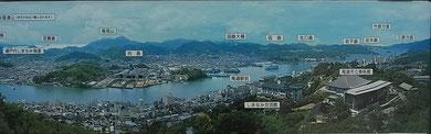【千光寺展望台の掲示板】
