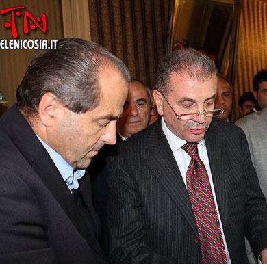 25 ottobre 2012 - Incontro con il Sen. Antonio Di Pietro, leader nazionale dell'IDV