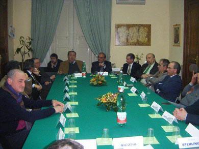 Conferenza dei Sindaci dei circondari dei Tribunali di Nicosia e Mistretta