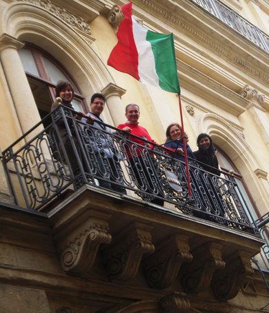 da sinistra: Avv. Arianna Pagliazzo, Dott. Giovanni Garigliano, Avv. Salvatore Timpanaro, Avv. Daniela Zito, Avv. Lucia Mirabella