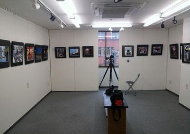 写真展会場