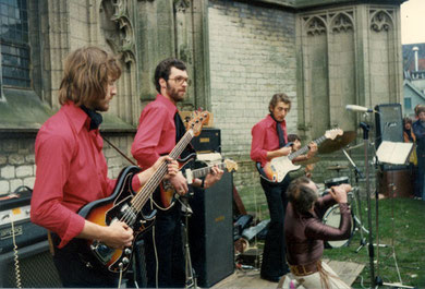 Big Jeff & The Hurricane Rollers - Vlooienmarkt, Den Bosch  2 mei 1976