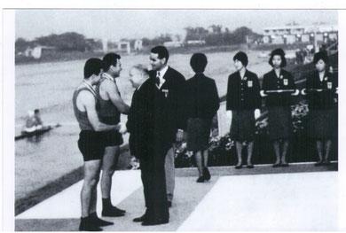 Токио. Гребной канал Тода. 1964 год