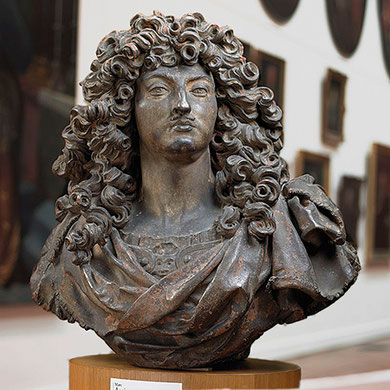 Buste de Louis XIV. Musée des Augustins à Toulouse